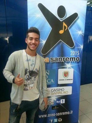 Alessandro Sapiolo a Sanremo
