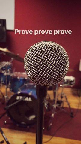 Microfono sala prove Estro