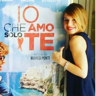 Angela Semerano e locandina film
